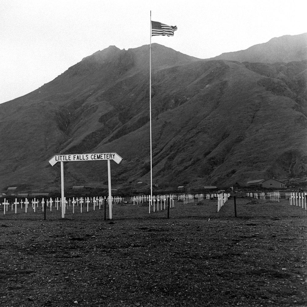 Attu Island, Aleutian Campaign, World War II, 1943.