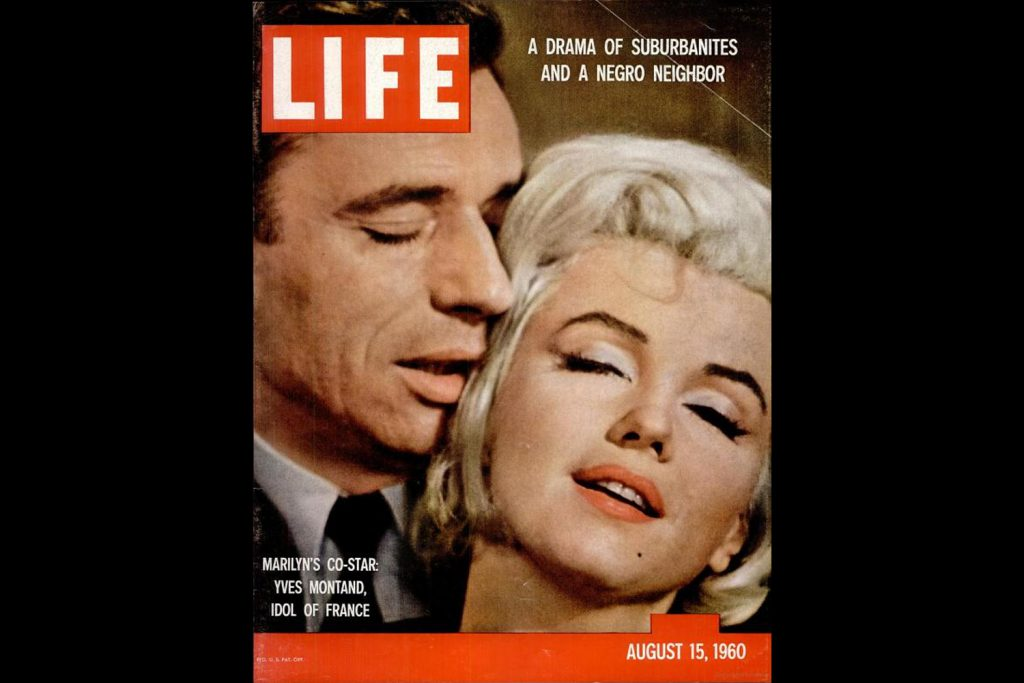 LIFE Magazine, August 15, 1960. Marilyn Monroe, photographed by John Bryson.