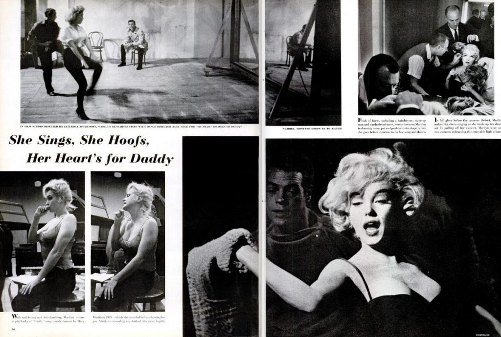Page spreads from the August 15, 1960, issue of LIFE Magazine.