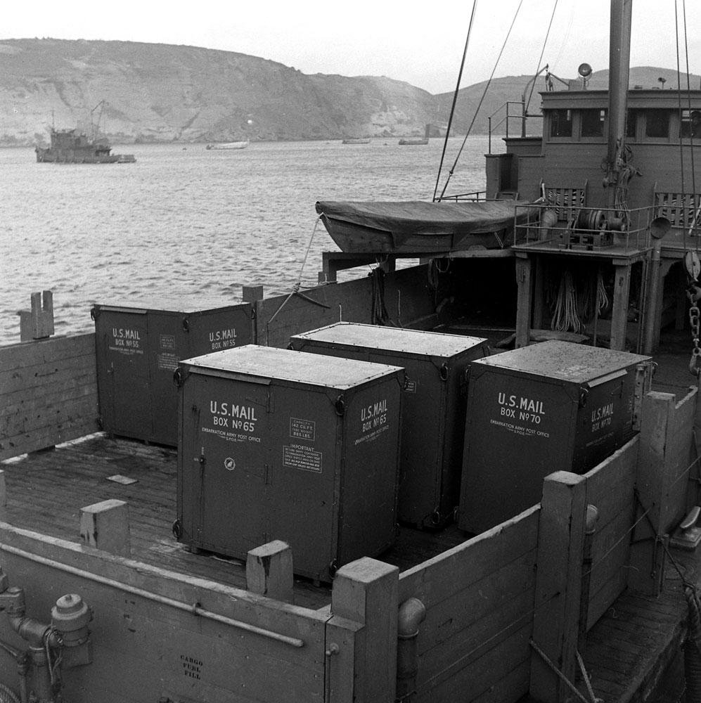 Mail transports, Aleutian Islands Campaign, Alaska, 1943.