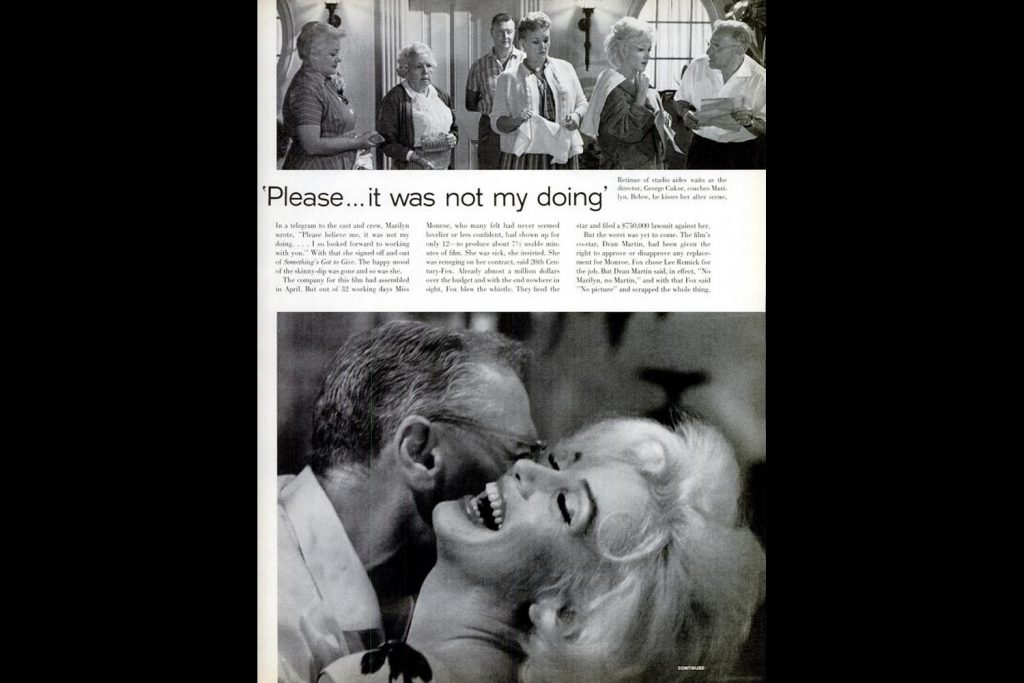 Page spreads from the June 22, 1962, issue of LIFE Magazine.