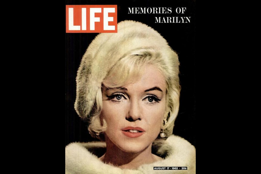 LIFE Magazine, August 17, 1962. Marilyn Monroe, photographed by Lawrence Schiller.