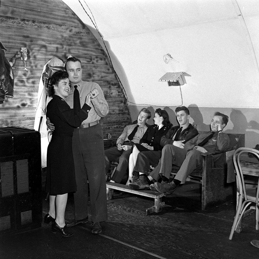 R&R, Aleutian Islands Campaign, Alaska, 1943.