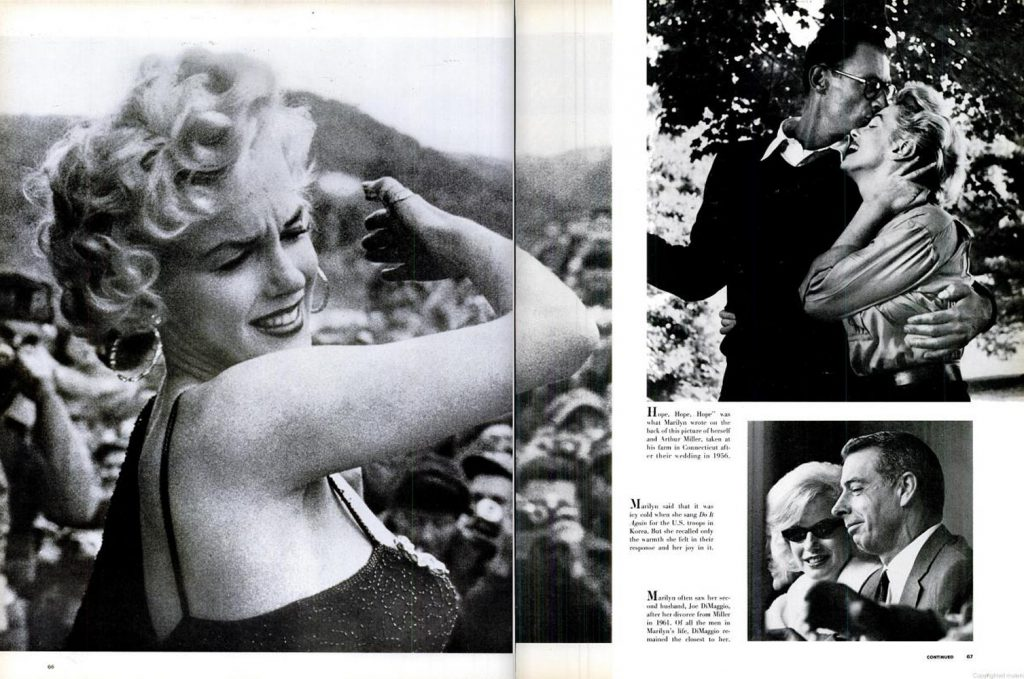 Page spreads from the August 17, 1962, issue of LIFE Magazine.