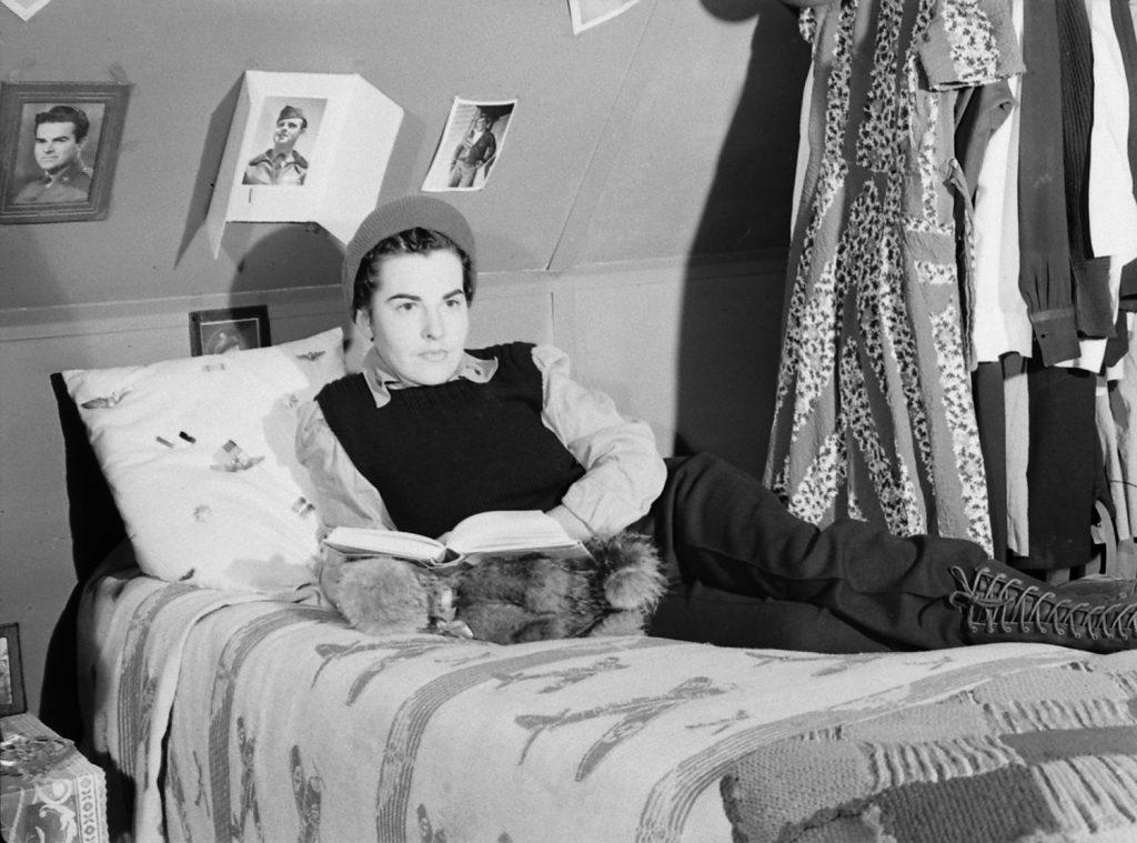 An American nurse, Aleutian Campaign, Alaska, 1943.