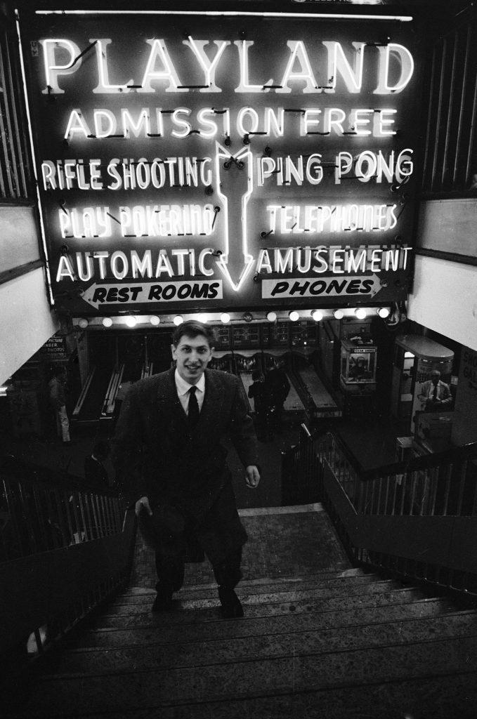 Bobby Fischer, New York, 1962.