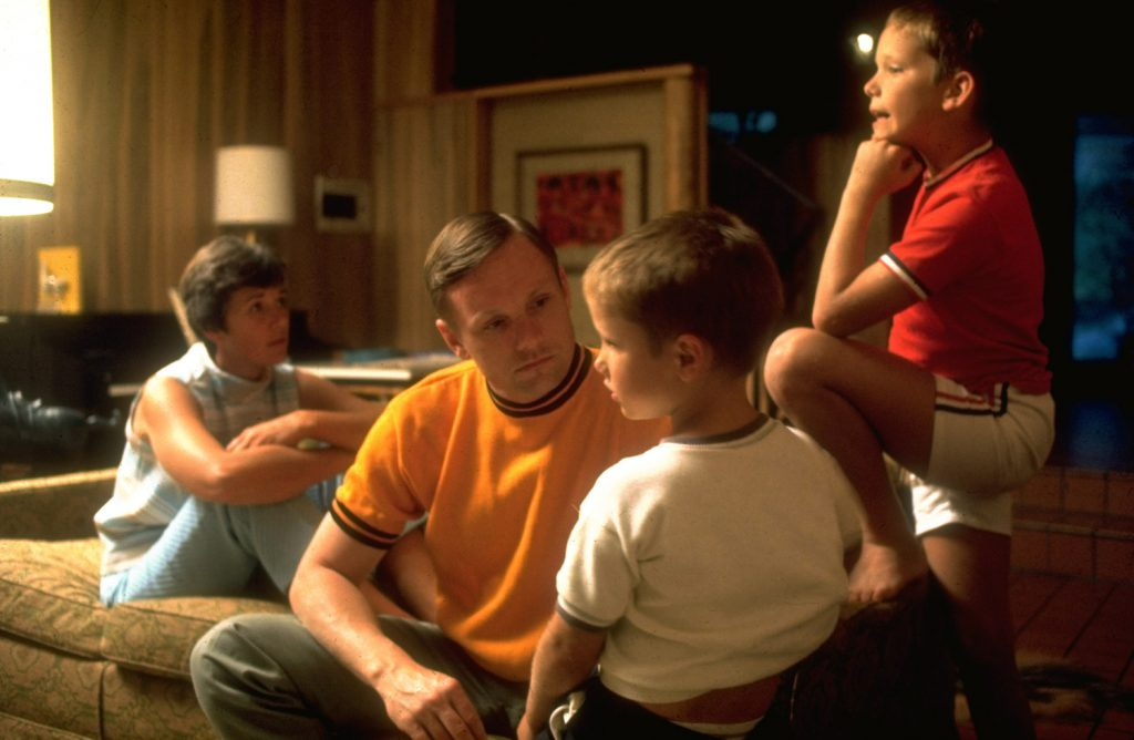 Neil Armstrong and his family, spring 1969.