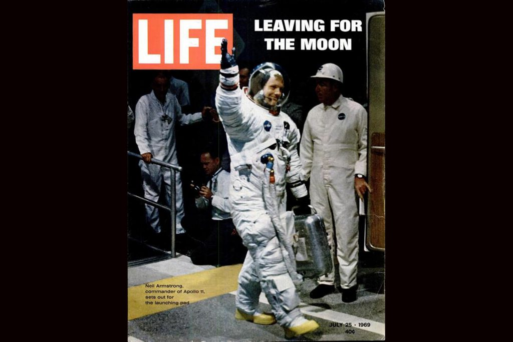 Neil Armstrong, LIFE magazine, July 25, 1969
