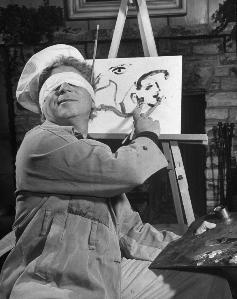 Harpo Marx, 1948.