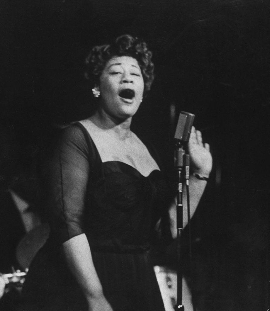 Ella Fitzgerald, 1958.