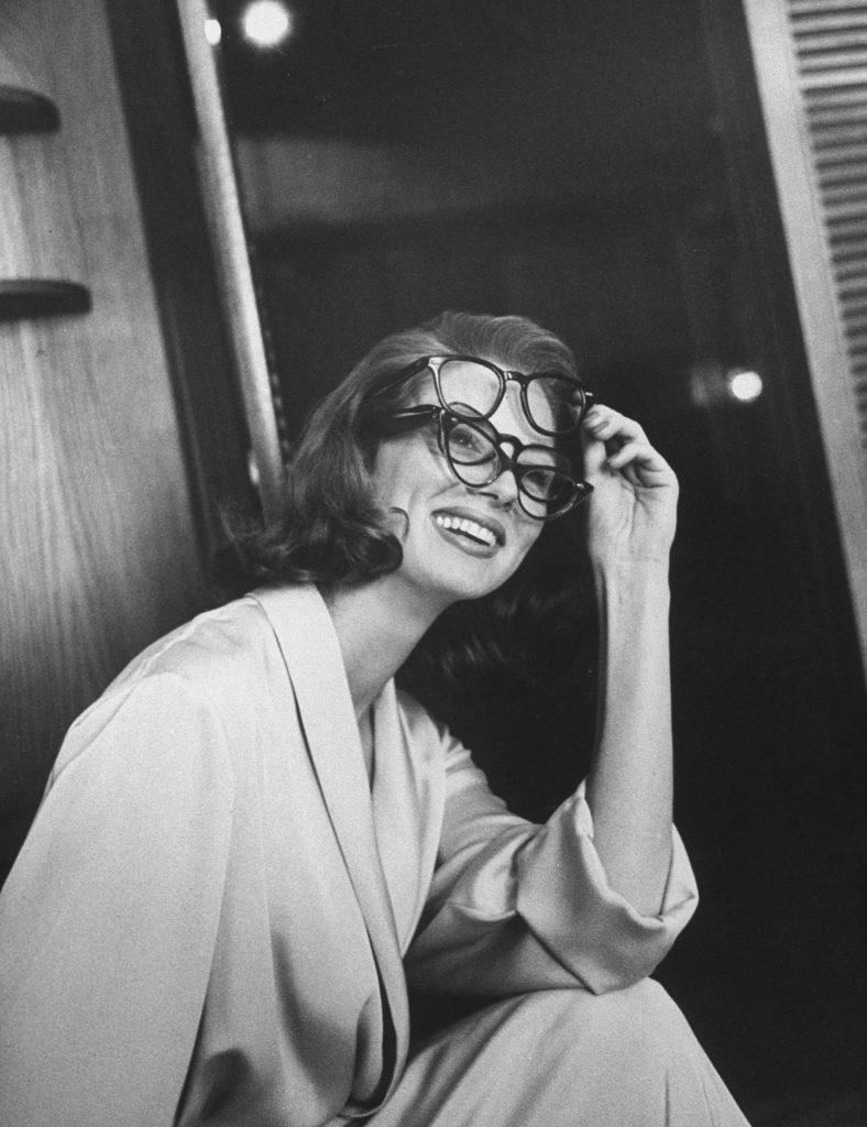 Actress-model Suzy Parker, 1957.