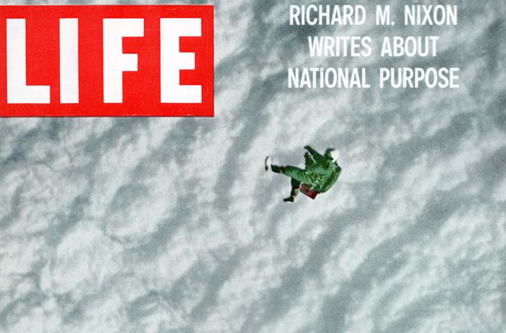 Joe Kittinger LIFE Magazine cover 1960