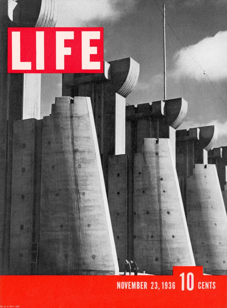 First LIFE cover November 23, 1936.