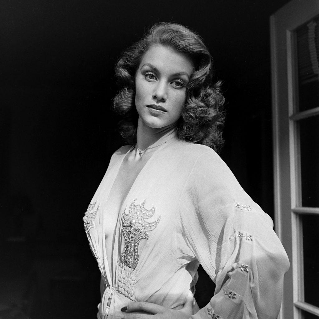 Linda Christian in 1945.