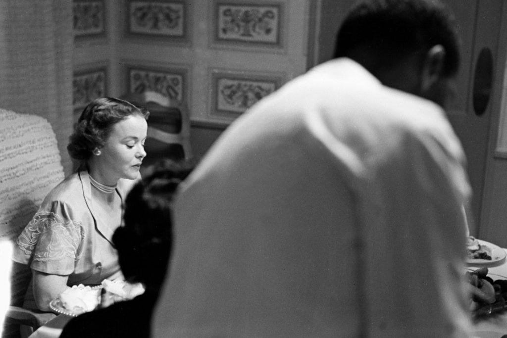 Mickey Cohen's wife, LaVonne, 1949.