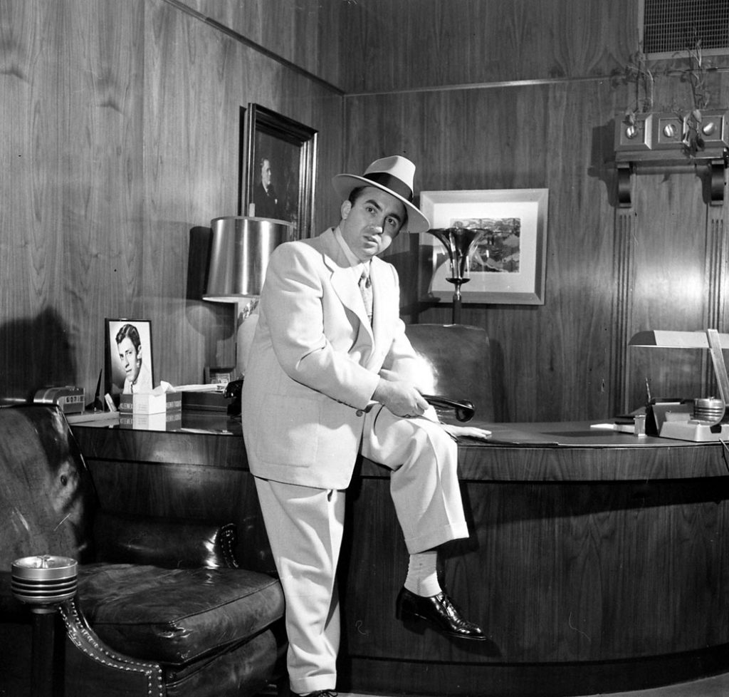 Mickey Cohen, 1949.