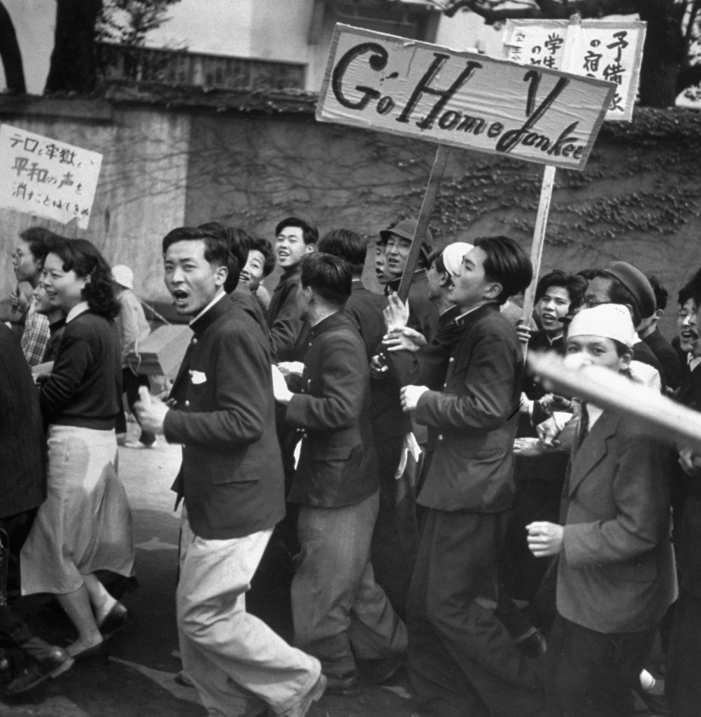 May Day in Tokyo, 1952