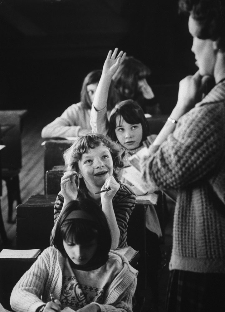 In a one-room school at Thornton Gap, Loretta Adams dispenses what Appalachia needs most -- learning. In winter pupils are constantly out sick.