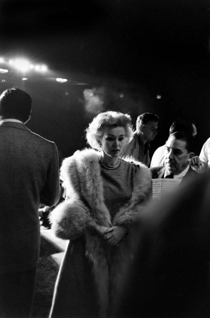 Zsa Zsa Gabor, 1958 Oscars