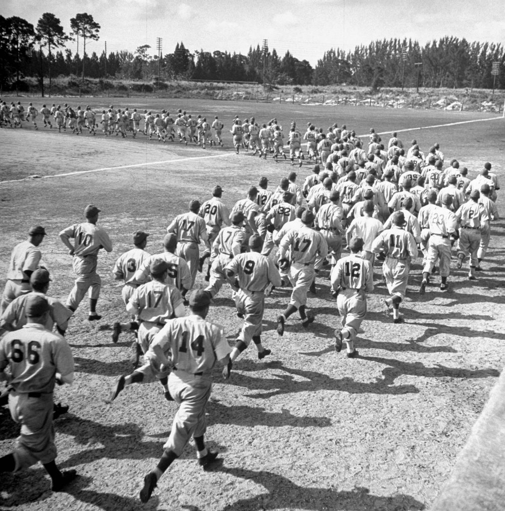 Dodger prospects, Dodgertown, Fla., 1948.