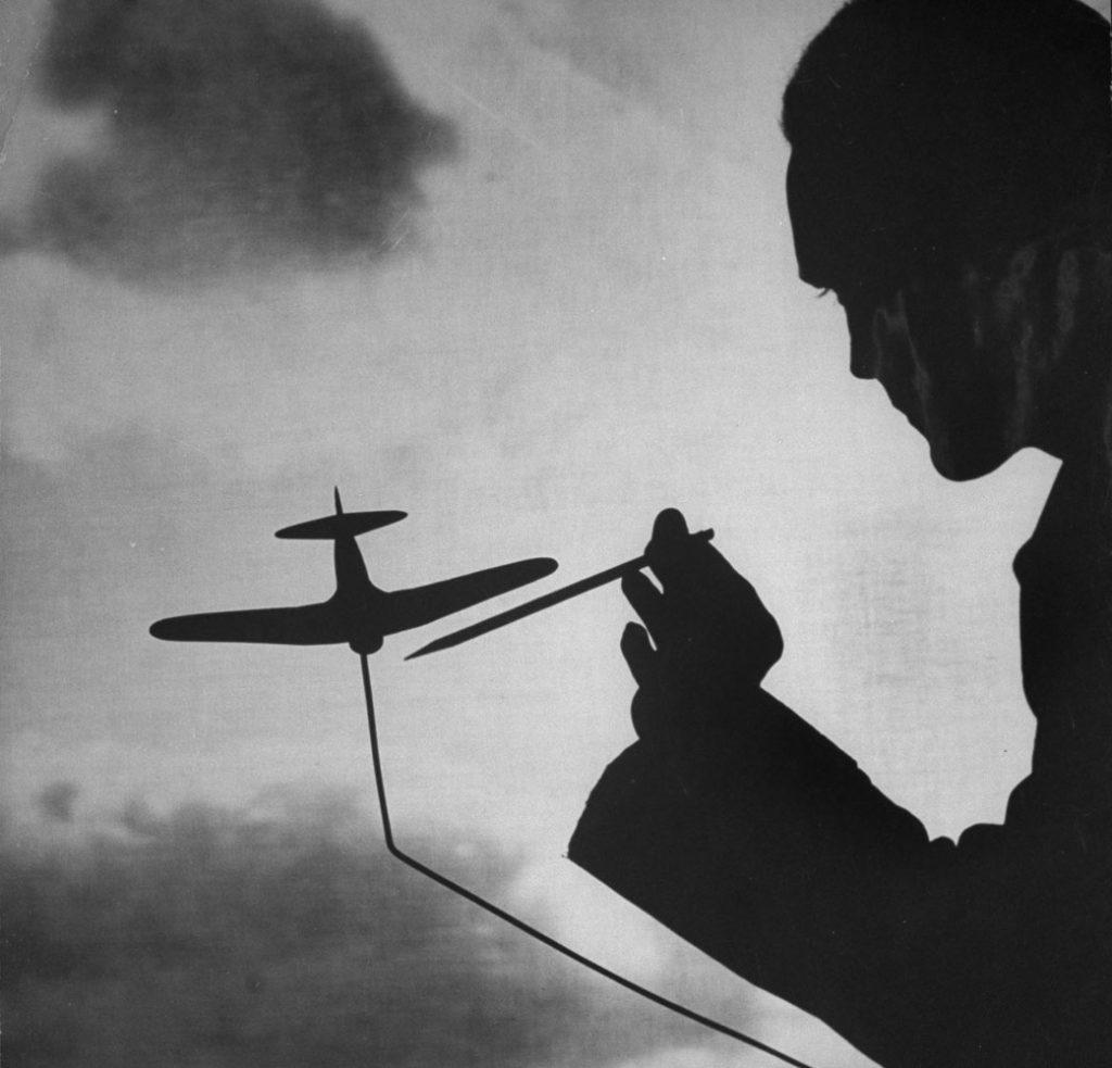 Air Force training, 1944.