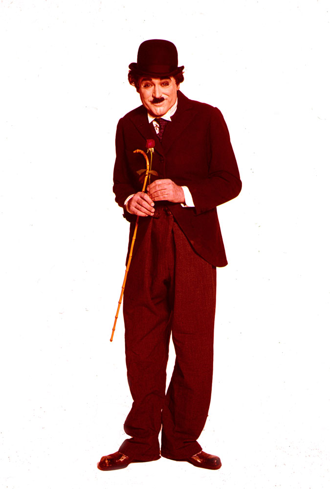 Cary Grant as Charlie Chaplin