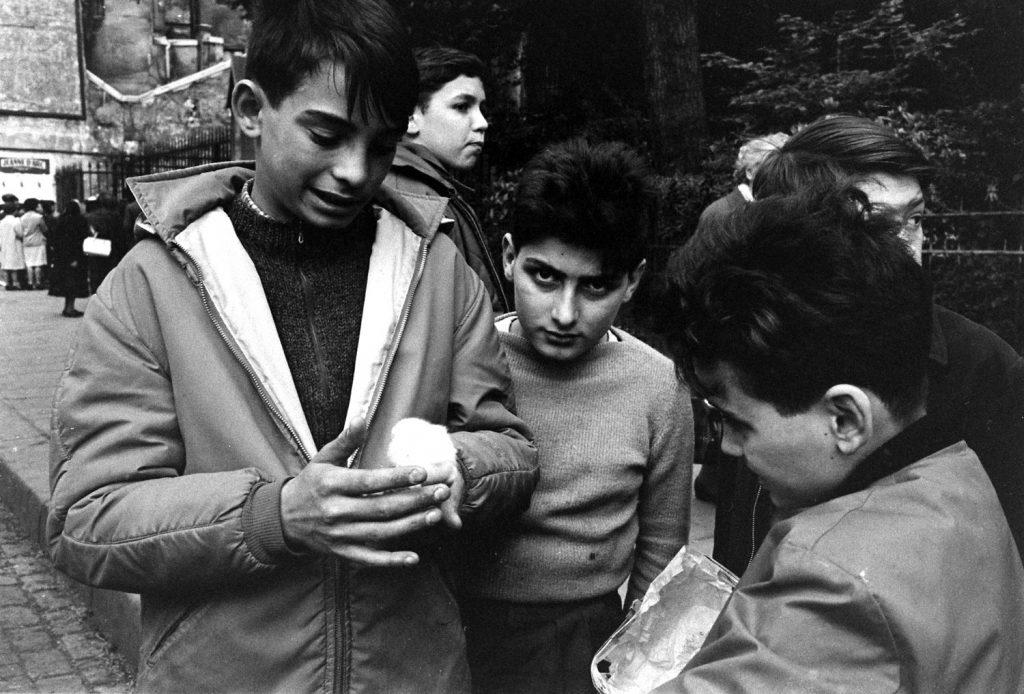 Children, Paris, 1963.