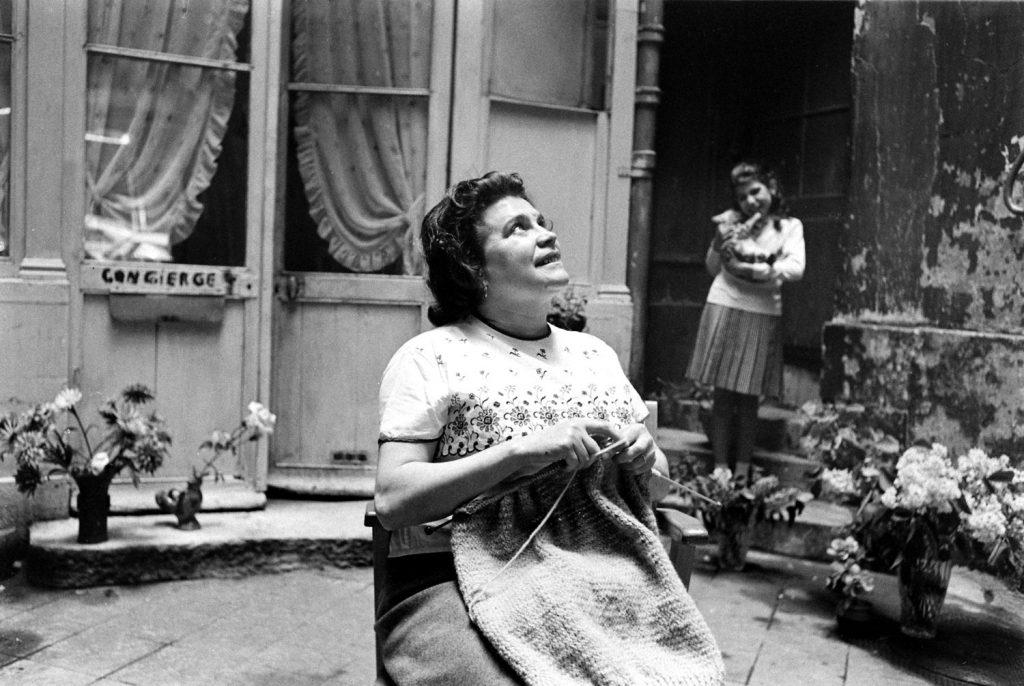 Paris street scene, 1963.