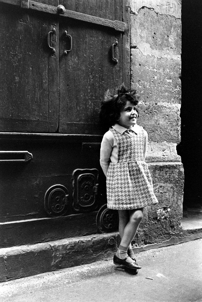 Little girl, Paris, 1963.