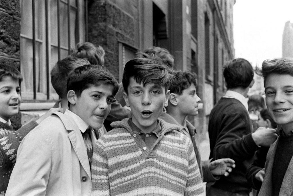 Children, Paris, 1963