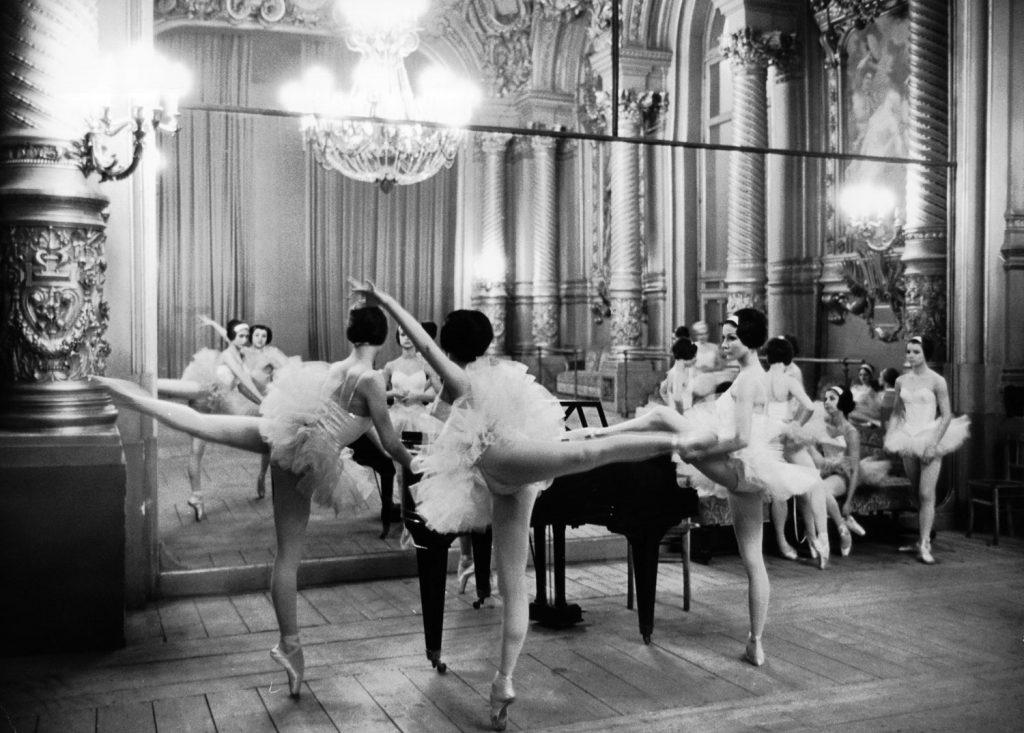 Ballerinas at the Paris Opera, 1963.
