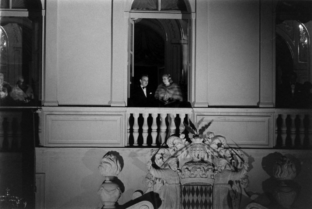 Prince Rainier III and Her Serene Highness, Princess Gracia Patricia of Monaco, April 19, 1956.