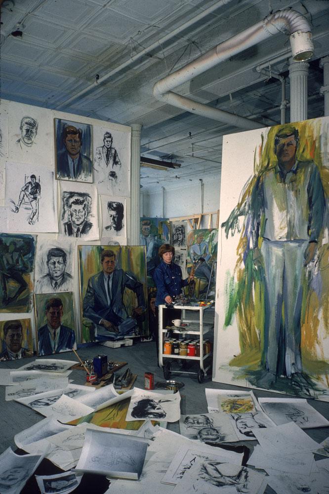 Elaine de Kooning 1964