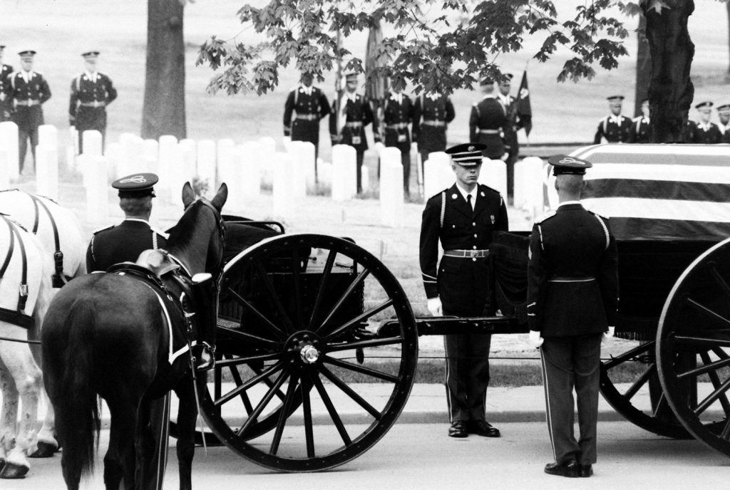 Funeral, Arlington National Cemetery, 1965.