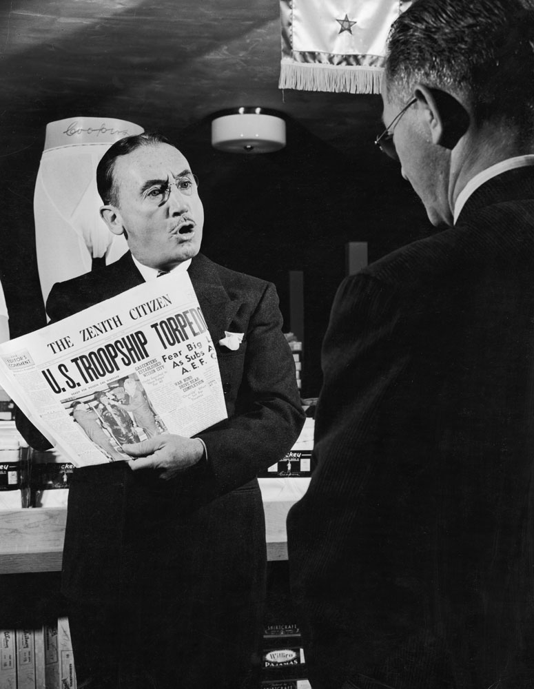 Alfred Hitchcock picture story in LIFE magazine, July 1942