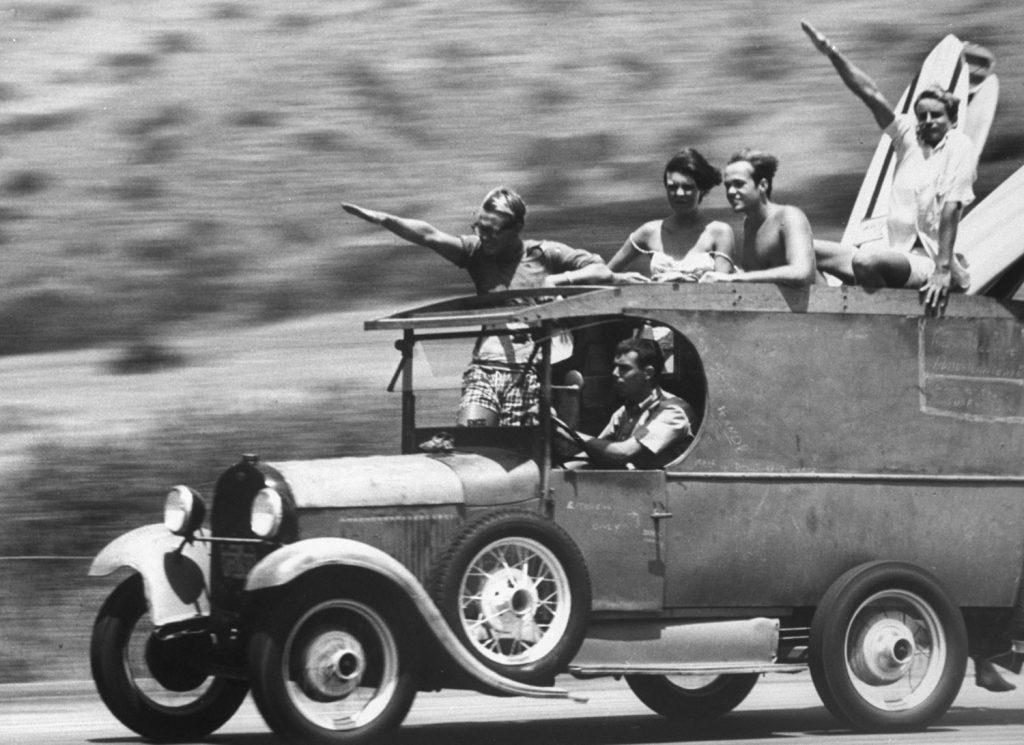 Surfers, Malibu, California 1961