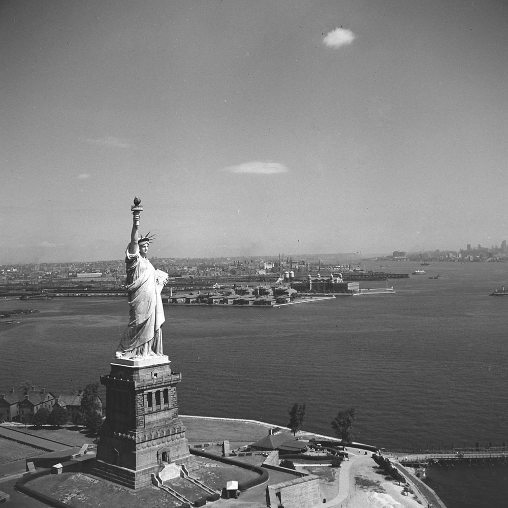 Statue of Liberty, 1951.