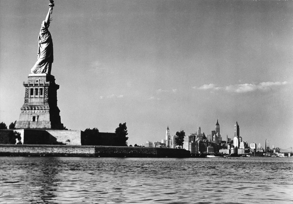 Statue of Liberty, 1939.