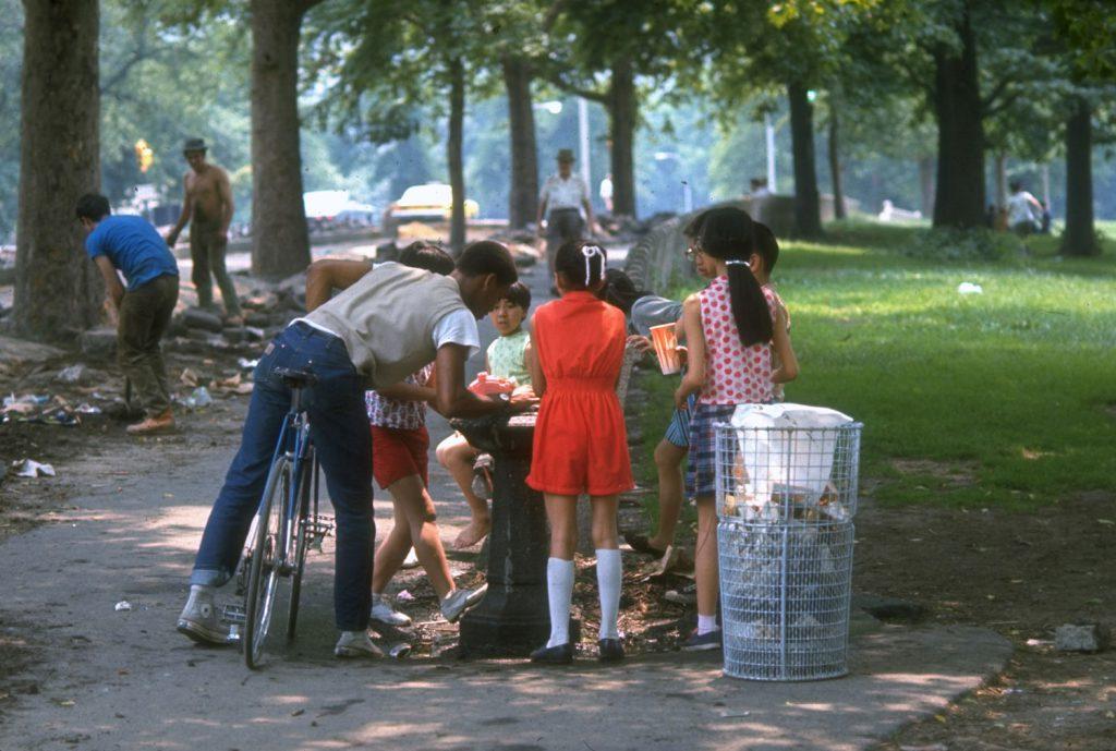 Children in Central Park, 1969.
