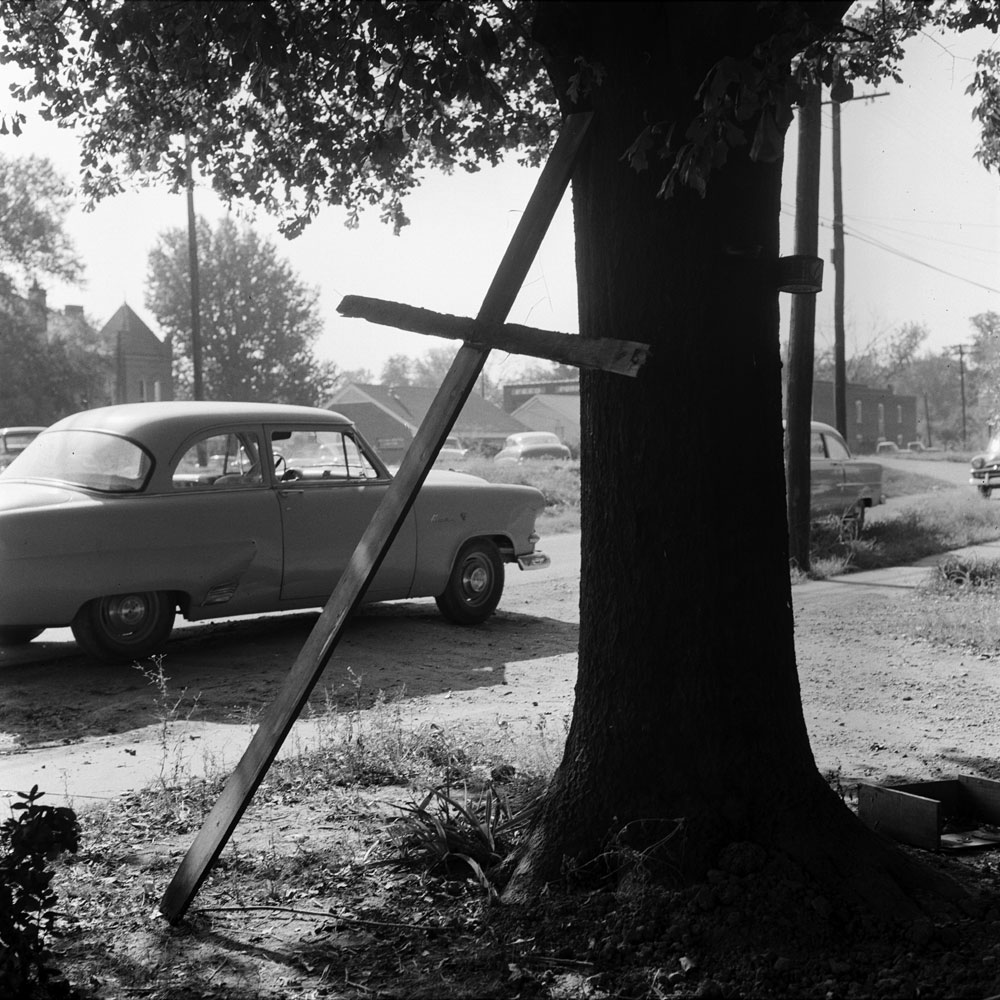 A scene in Mississippi around the time of the trial of Roy Bryant and J.W. Milam for the kidnapping and murder of Emmett Till, 1955.