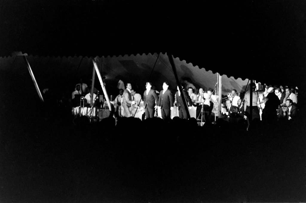 The Salute to Freedom benefit concert in Birmingham, Ala., August 5, 1963.