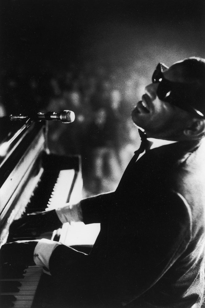 Ray Charles at Carnegie Hall, New York City, 1966.