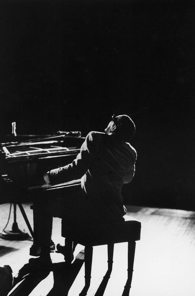 Ray Charles at Carnegie Hall, New York City, 1966.