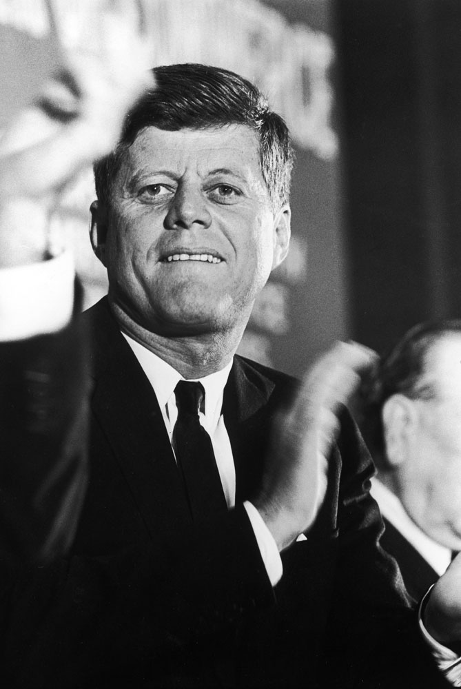 JFK in Forth Worth, Nov. 22, 1963
