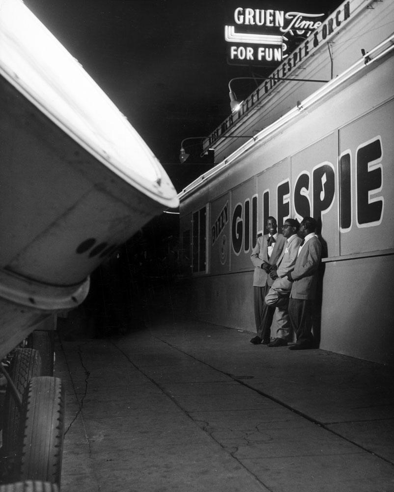 Dizzy Gillespie and friends, 1948.