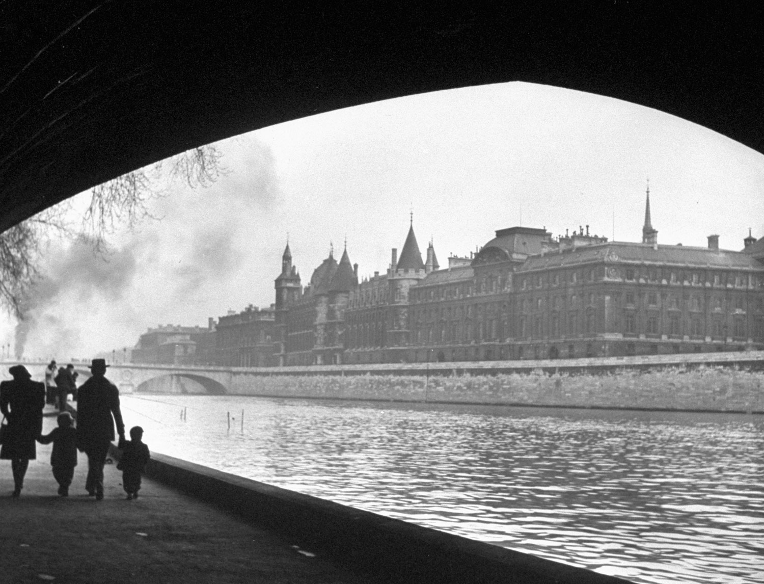Scene on the Seine, 1946.