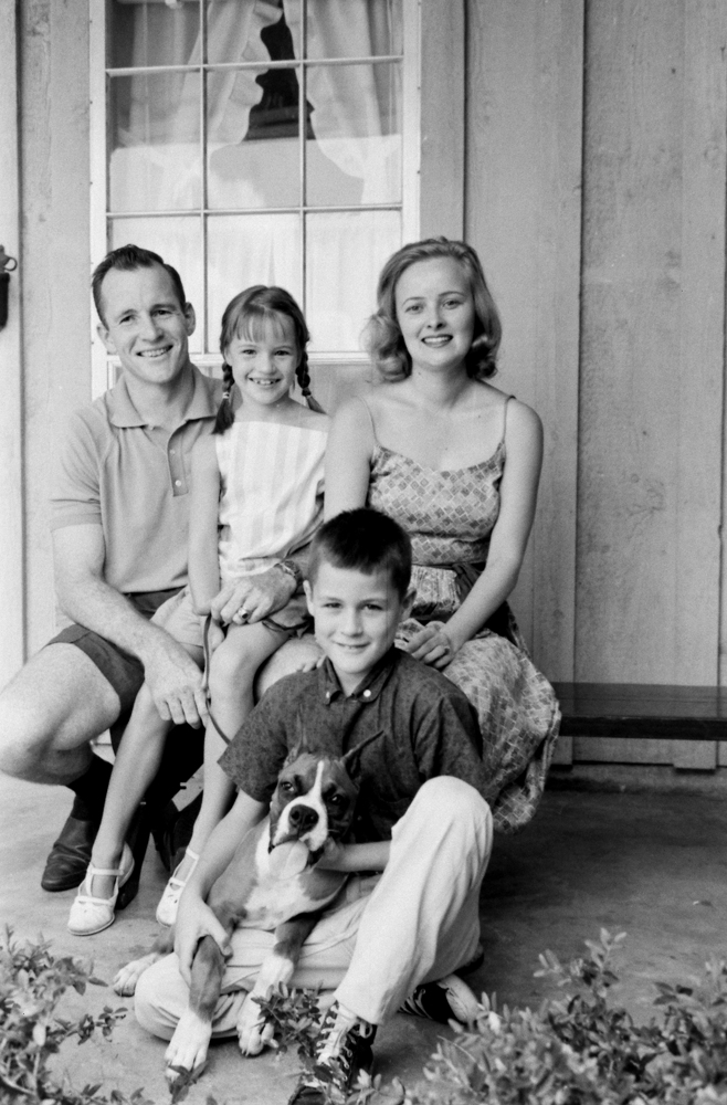 Astronaut Edward White and family, Houston.