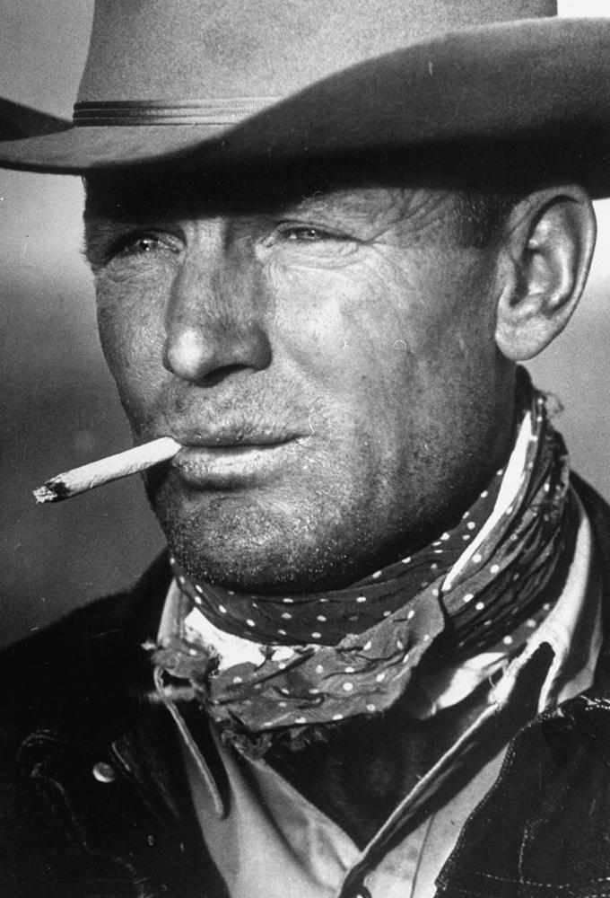 "Texas cowboy Clarence Hailey ""C.H."" Long, Jr., 1949."