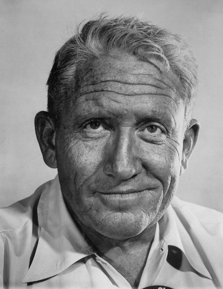 Spencer Tracy, 1955.