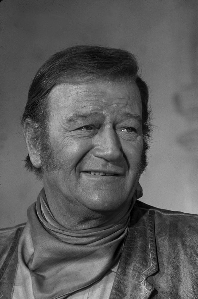 John Wayne in 1969.